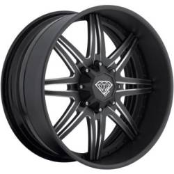 New DPR AK-47 SS Matte Black Wheels