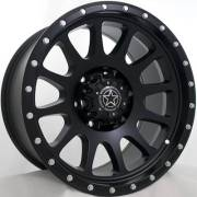 DWG Offroad DW10 Force Matte Black Wheels