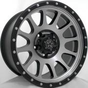 DWG Offroad DW10 Force Machine Matte Black Wheels