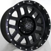 DWG Offroad DW11 Kinetic Matte Black Wheels