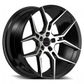 Giovanna Haleb Black Machined Wheels