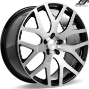 Ace Alloy AFF07 Brushed Face Wheels