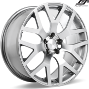 Ace Alloy AFF07 Silver Wheels