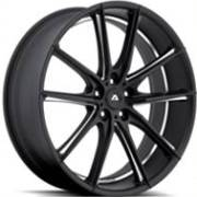 Adventus AVX-10 Black Milled Wheels