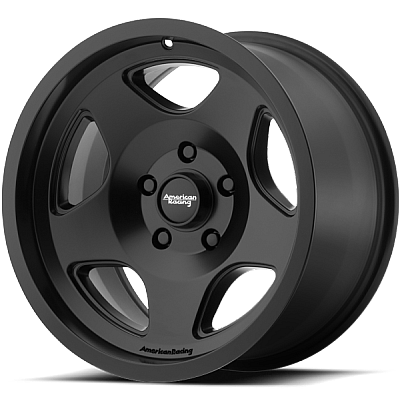 American Racing AR923 Black Wheels