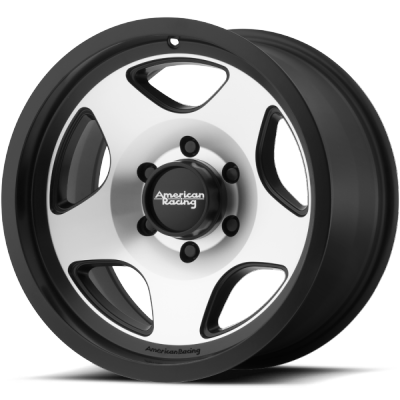 American Racing AR923 Machined Black Wheels