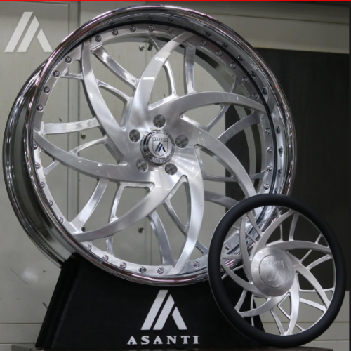 Asanti FS10 Wheel with Matching Steering Wheel