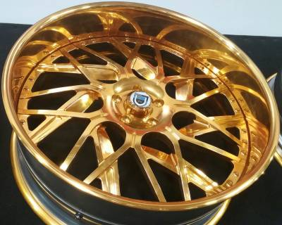 asanti af-832 gold painted