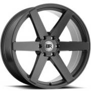 Black Rhino Haka Matte Black Wheels