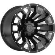 Black Rhino Pinatubo Gloss Black Milled Wheels