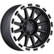 Black Rhino Revolution Black Machined Wheels