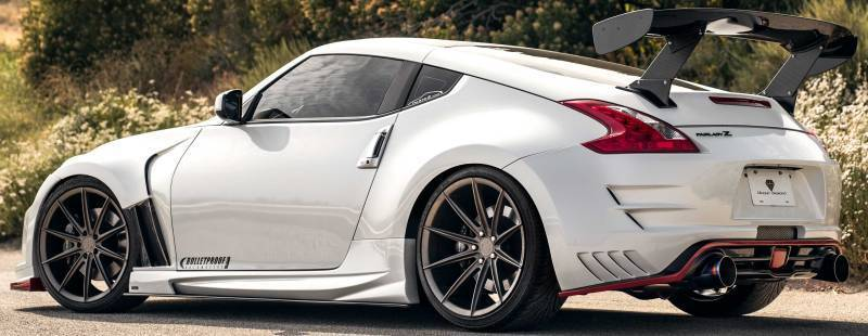 2011 Nissan 370Z on Blaque Diamond BD-11 Bronze