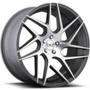 Blaque Diamond BD-3 Graphite Machined Wheels