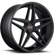 Blaque Diamond BD-8 2-Tone Black Wheels