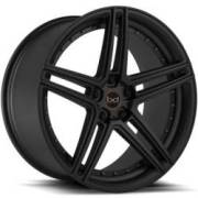 Blaque Diamond BD-6 Semi-Matte Black Wheels