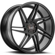 Blaque Diamond BD-1 Semi-Matte Black Wheels