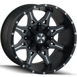 Cali Offroad 9107C Obnoxious Satin Black Wheels