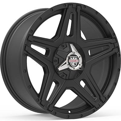 Center Line ST1X Satin Black Wheels