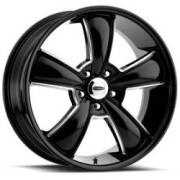 Cragar 615BM Black Machined Wheels