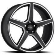 Cragar 620BM Black Machined Wheels