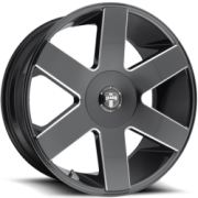 DUB Baller 6 S233 Gloss Black Milled Wheels