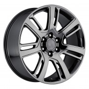 Style 48 Cadillac Escalade Black Chrome Wheels