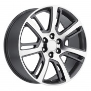 Style 48 Cadillac Escalade Grey Machined Wheels