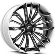 Forgiato Montare ECL Black and White Wheels