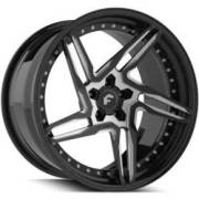 Technica 2.1 Black and Silver Wheels
