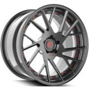 Technica 2.2 Grey and Red Wheels