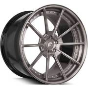 Forgiato Technica 2.4 Smoke Brushed Finish Wheels