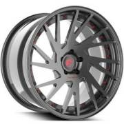 Forgiato Technica 2.5 Grey and Red Wheels