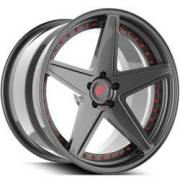 Technica 2.6 Red and Grey Wheels