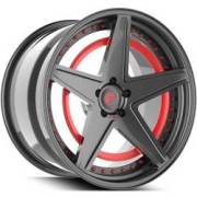 Technica 2.6-R Red and Grey Wheels