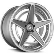 Forgiato Technica 2.6-R Grey and Silver Wheels