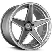Forgiato Technica 2.6 Grey and Silver Wheels