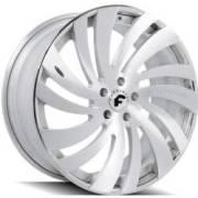 Forgiato Canale-ECL Satin Chrome Wheels