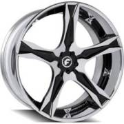 Forgiato Cativa-ECL Chrome and Black Wheels