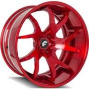 Forgiato F2.23-B Red Wheels