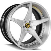 Forgiato Fata-ECL Brushed, Yellow and Black Wheels