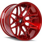 Forgiato Kato-1-ECL Red Wheels