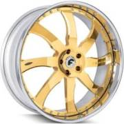 Forgiato Quattresimo Gold Wheels
