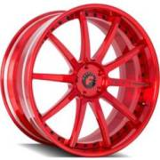 Forgiato S206 Sky-1 Red Wheels