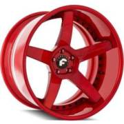 Forgiato S208 Sky-2 Red Wheels