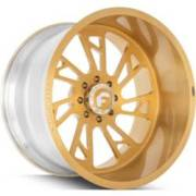 Forgiato Veraso-T Gold Wheels