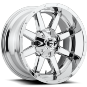 Fuel Maverick Chrome Wheels