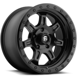 Fuel JM2 Matte Black Wheels