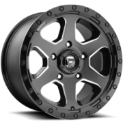 Fuel Ripper Gloss Black Milled Wheels