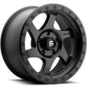 Fuel Rotor Matte BlackWheels