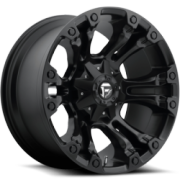 Fuel Vapor Matte Black Wheels